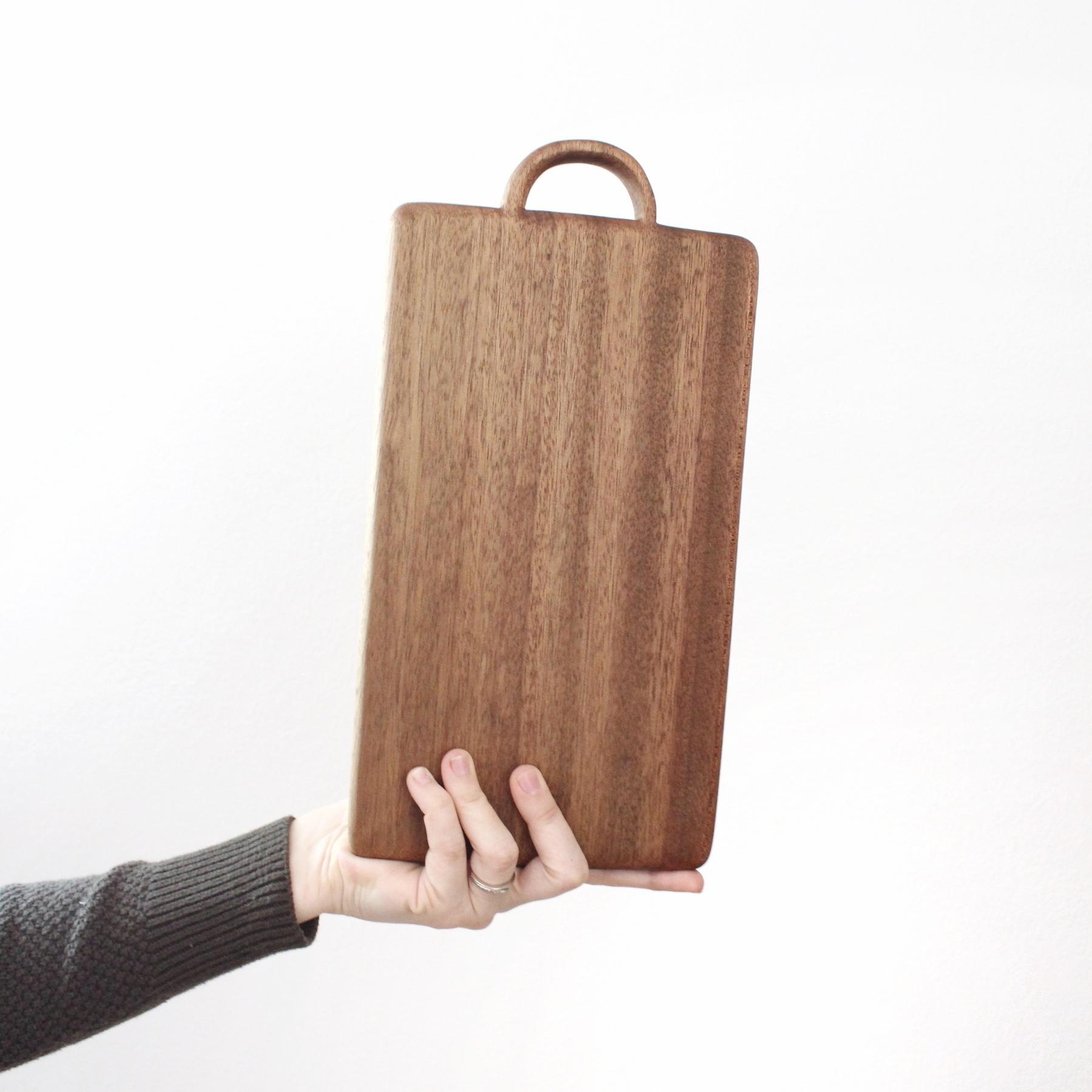 handmade cutting board walnut
