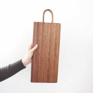 handmade charcuterie board walnut