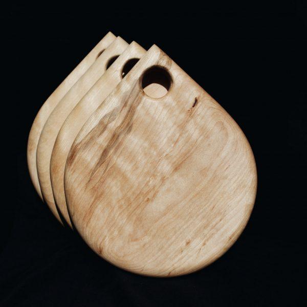 wooden snack board